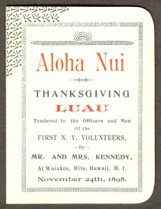 Cover Thanksgiving Luau