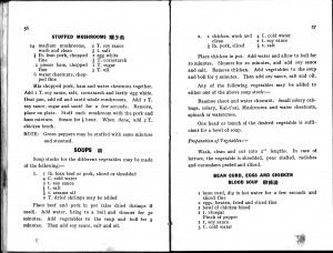 Recipes from 1935 English-language Chinese cookbook