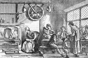 Dog working a turnspit