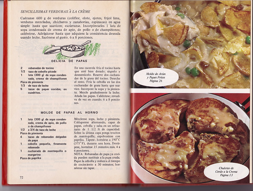 Campbell's recipes for Mexico