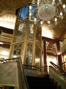 The Grand Staircase in the Providence Biltmore
