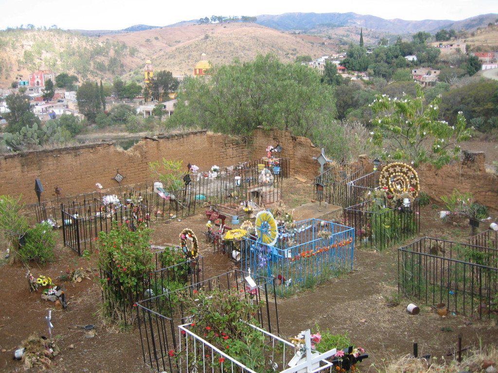 The day after the Day of the Dead in Santa Ana in the foothills of the Sierra de Guanajuato, Mexico